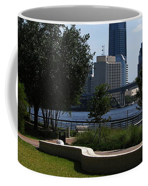 Art For The Wall...patzer Photography Coffee Mug featuring the photograph City Way by Greg Patzer