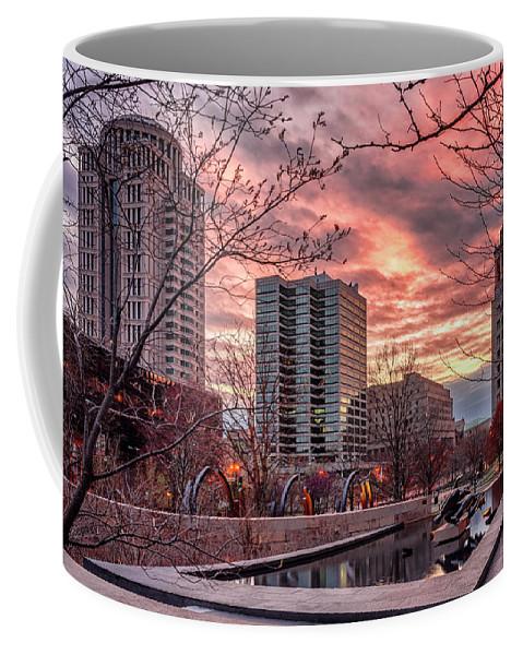 Missouri Coffee Mug featuring the photograph Citygarden Gateway Mall St Louis Mo Dsc01485 by Greg Kluempers