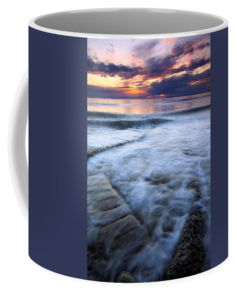 Tides Coffee Mug featuring the photograph Civilization Forgotten by Mike Dawson