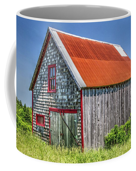 Coffee Mug featuring the photograph Clapboard House by Nadine Berg