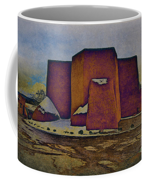 Santa Coffee Mug featuring the photograph Classic Adobe by Charles Muhle