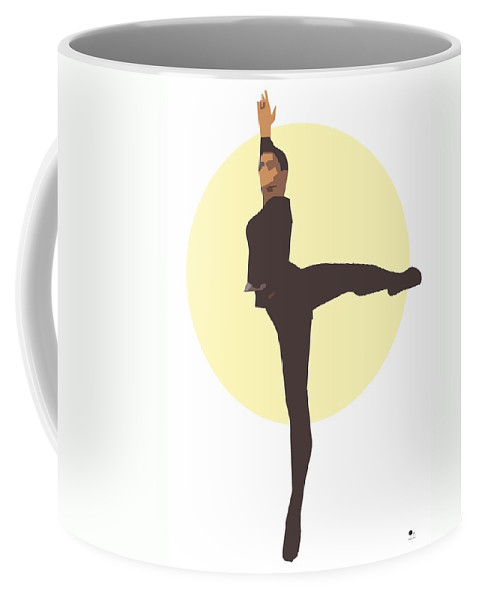 Dancer Coffee Mug featuring the digital art Classic Ballet Dancer by Joaquin Abella