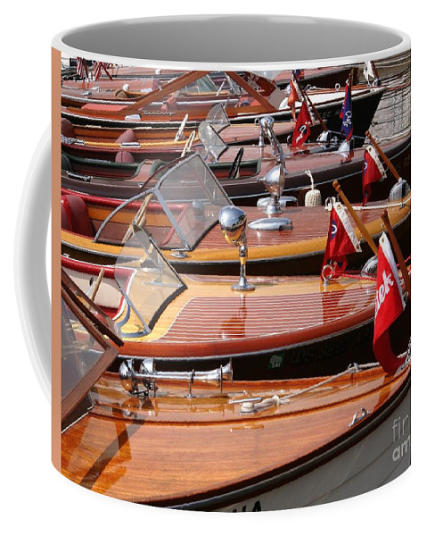 Boat Coffee Mug featuring the photograph Classic Boats by Neil Zimmerman