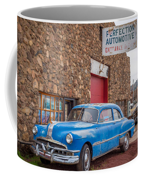Landscape Coffee Mug featuring the photograph Classic Car by Jon Manjeot