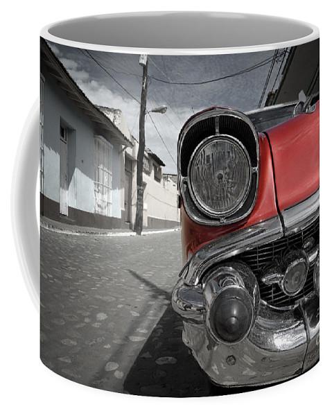 Trinidad Coffee Mug featuring the photograph Classic Car - Trinidad - Cuba by Rod McLean