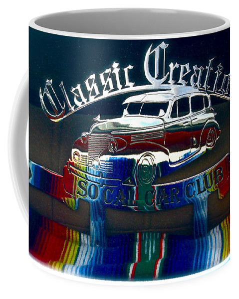 Photograph Of Classic Car Coffee Mug featuring the photograph Classic Creations by Gwyn Newcombe