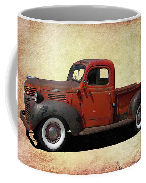 Dodge Coffee Mug featuring the photograph Classic Dodge Pickup Truck by Nick Gray