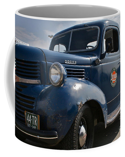 Truck Coffee Mug featuring the photograph Classic Dodge by Rick Monyahan