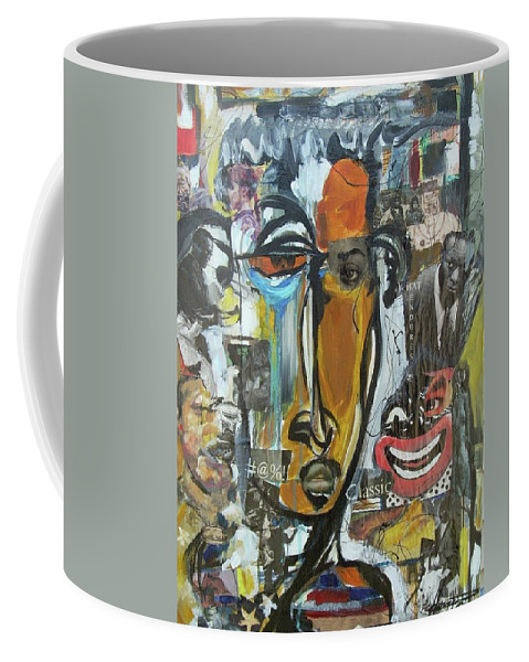 Culture Coffee Mug featuring the painting Classic by Hasaan Kirkland