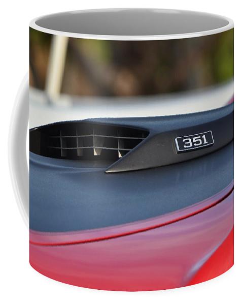 Coffee Mug featuring the photograph Classic Mach 1 Hood Scoop by Dean Ferreira