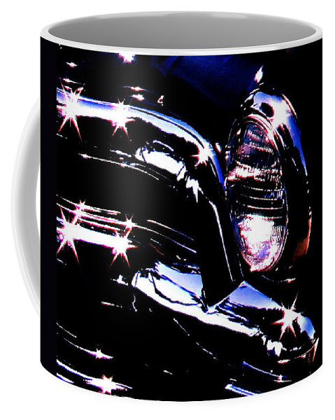 Photograph Of Classic Car Coffee Mug featuring the photograph Classic Sparkle by Gwyn Newcombe