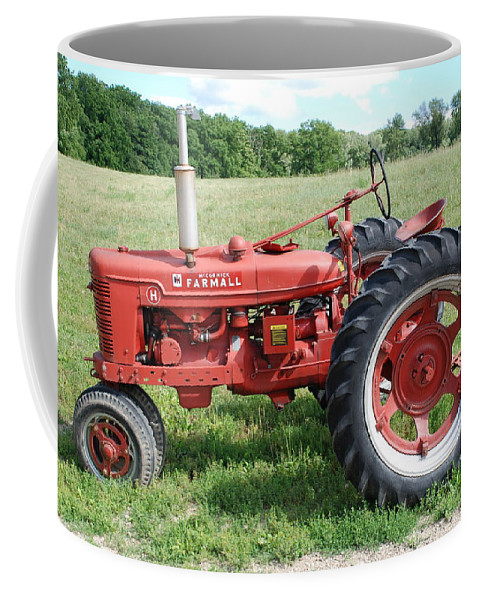 Farm Coffee Mug featuring the photograph Classic Tractor by Richard Bryce and Family
