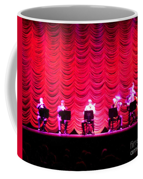 Classical Coffee Mug featuring the photograph Classical Quintet by Sherry Oliver
