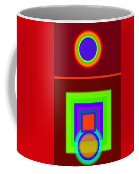 Classical Coffee Mug featuring the digital art Classical Snack by Charles Stuart