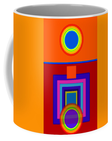 Classical Coffee Mug featuring the painting Classical Wheels by Charles Stuart