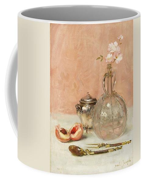 Claude Joseph Bail (french Coffee Mug featuring the digital art Claude by Mark Carlson