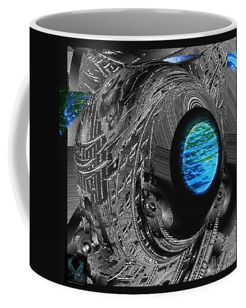 Colorful Coffee Mug featuring the photograph Clean Water Quest by Dale Crum