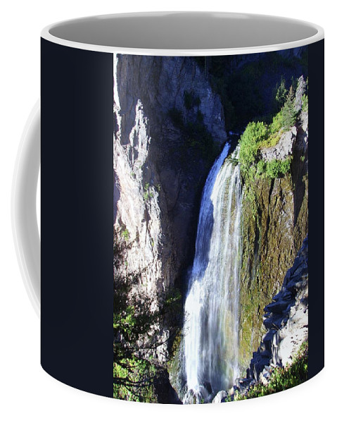 Waterfalls Coffee Mug featuring the photograph Clear Creek Waterfall by Jeff Swan