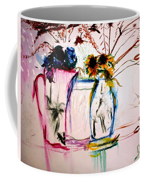 Still Life Coffee Mug featuring the painting Clear by Jack Diamond