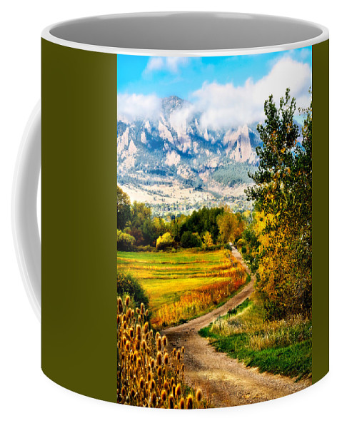Americana Coffee Mug featuring the photograph Clearly Colorado by Marilyn Hunt