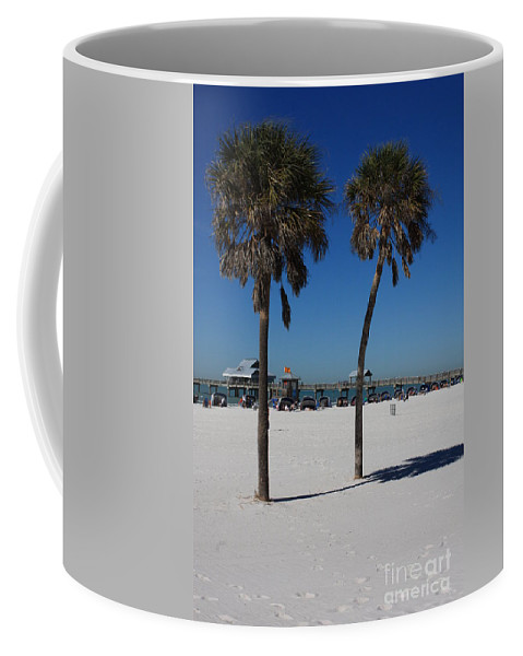 Clearwater Beach Coffee Mug featuring the photograph Clearwater Beach by Carol Groenen