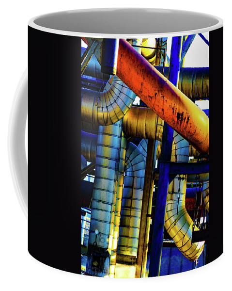 Cleveland Coffee Mug featuring the photograph Cleveland Industry by Stewart Helberg