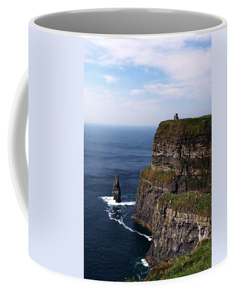 Irish Coffee Mug featuring the photograph Cliffs Of Moher County Clare Ireland by Teresa Mucha