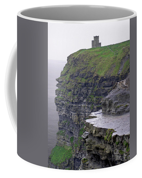 Cliff Coffee Mug featuring the photograph Cliffs Of Moher Ireland by Charles Harden