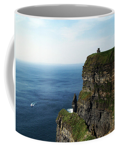 Irish Coffee Mug featuring the photograph Cliffs Of Moher Ireland by Teresa Mucha
