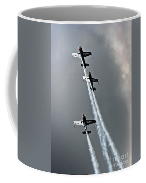 Blades Extra 300 Coffee Mug featuring the photograph Climbing Up by Angel Ciesniarska