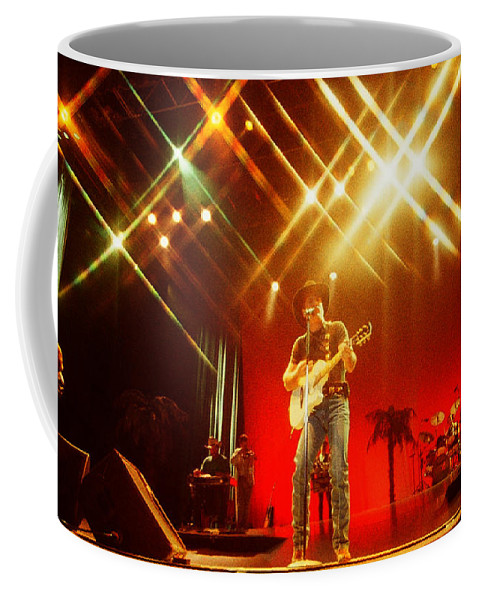 Clint Black Coffee Mug featuring the photograph Clint Black-0807 by Gary Gingrich Galleries