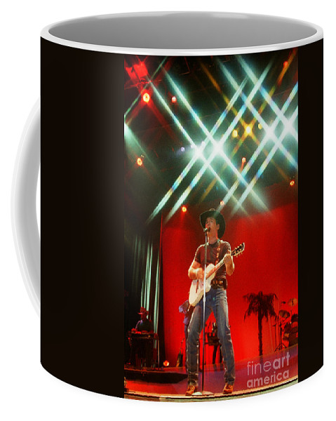 Clint Black Coffee Mug featuring the photograph Clint Black-0823 by Gary Gingrich Galleries