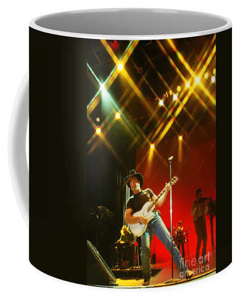 Clint Black Coffee Mug featuring the photograph Clint Black-0824 by Gary Gingrich Galleries