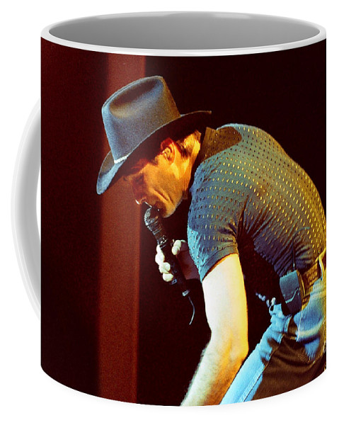 Clint Black Coffee Mug featuring the photograph Clint Black-0837 by Gary Gingrich Galleries