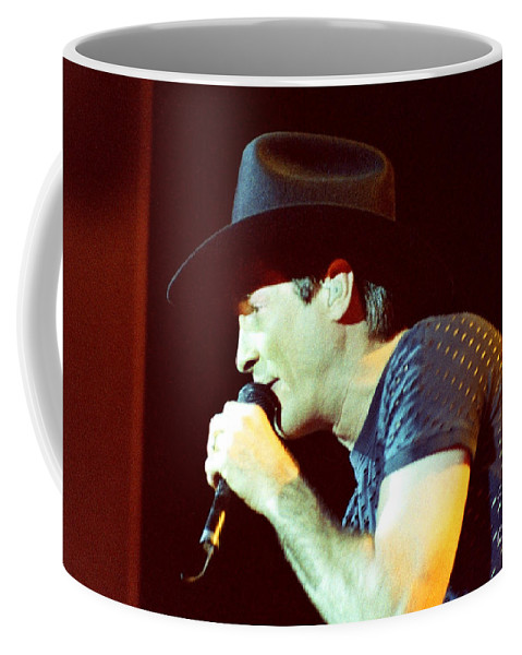 Clint Black Coffee Mug featuring the photograph Clint Black-0840 by Gary Gingrich Galleries