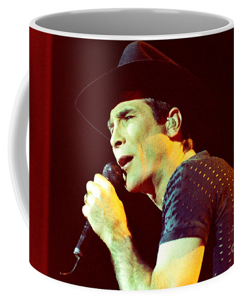 Clint Black Coffee Mug featuring the photograph Clint Black-0842 by Gary Gingrich Galleries