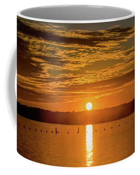 2016 Coffee Mug featuring the photograph Clinton Sunset 1 by Photography Wrap