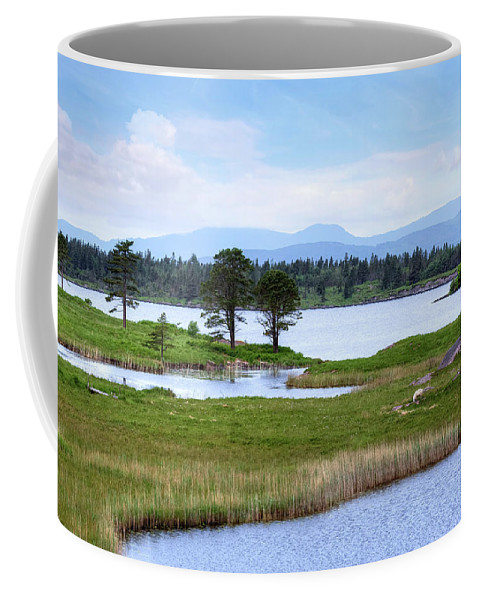 Gleninchaquin Park Coffee Mug featuring the photograph Cloonee Lough - Ireland by Joana Kruse