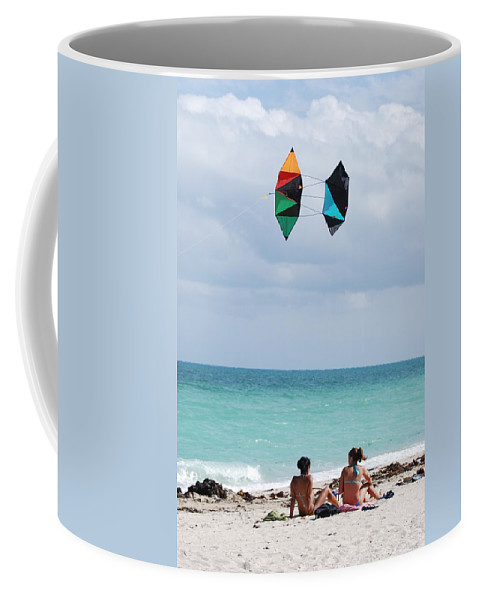 Sea Scape Coffee Mug featuring the photograph Close Encounters by Rob Hans