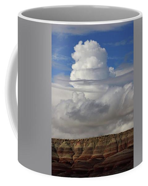 Cloud Coffee Mug featuring the digital art Cloud 1 by Jerry LoFaro