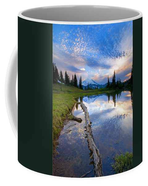 Landscape Coffee Mug featuring the photograph Cloud Explosion by Mike Dawson