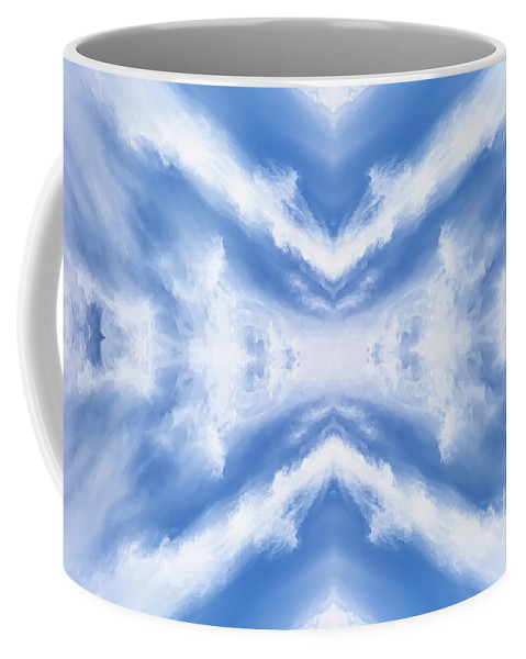 Clean Coffee Mug featuring the photograph Cloud Formation by Jan Brons