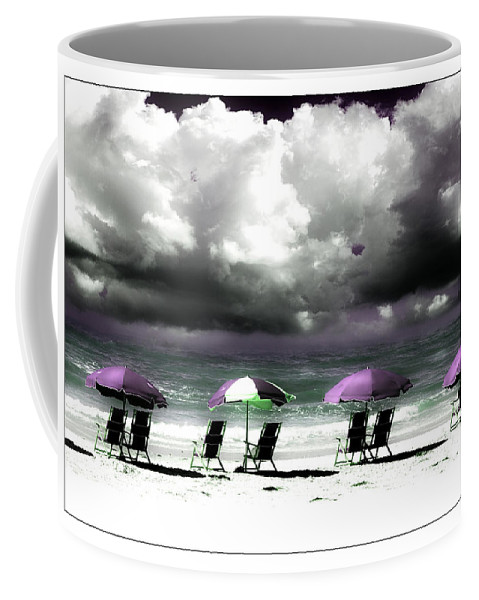 Beach Coffee Mug featuring the photograph Cloud Illusions by Mal Bray