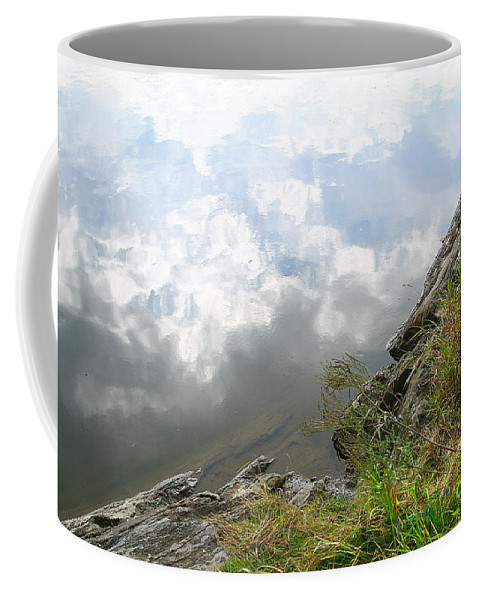 Clouds Coffee Mug featuring the photograph Cloud Reflections by Deborah Benoit
