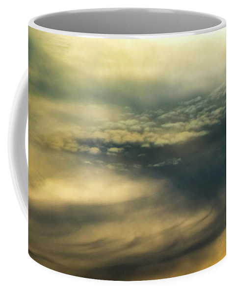 Cloud Systems Coffee Mug featuring the photograph Cloud Systems by Steven Poulton