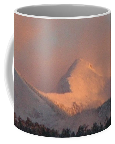 Sunset Art Coffee Mug featuring the photograph Cloud Veils by Anastasia Savage Ealy