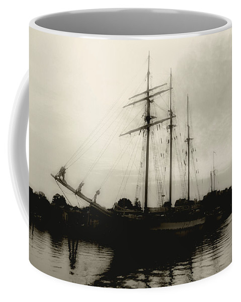 River Coffee Mug featuring the photograph Clouding Up by RC DeWinter