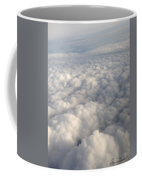 Clouds Coffee Mug featuring the photograph Clouds by Amy Lionheart