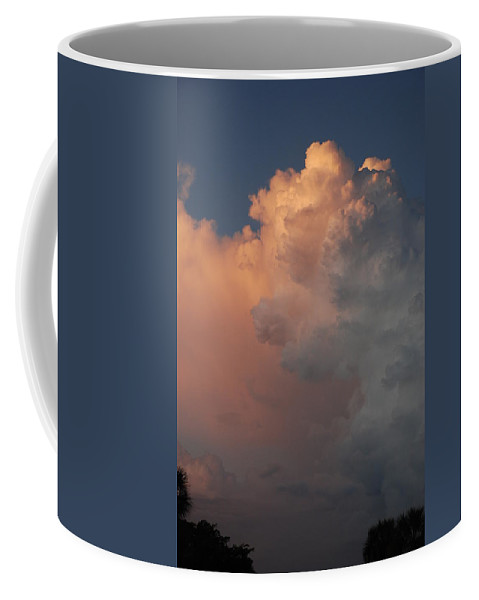Clouds Coffee Mug featuring the photograph Clouds And More Clouds by Rob Hans