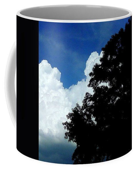 Clouds Coffee Mug featuring the photograph Clouds by Cindy New